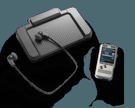 PocketMemo Dictation and Transcription Set